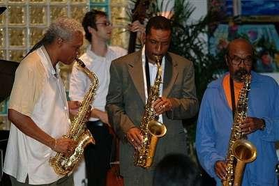 jazz festival shot