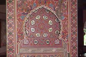 [Distinctive moorish decoration]