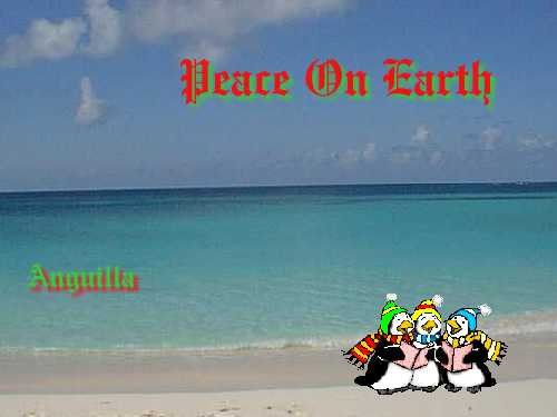Peace on Earth - Anguilla